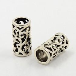 Antik Silber tibetischen Stil European Beads